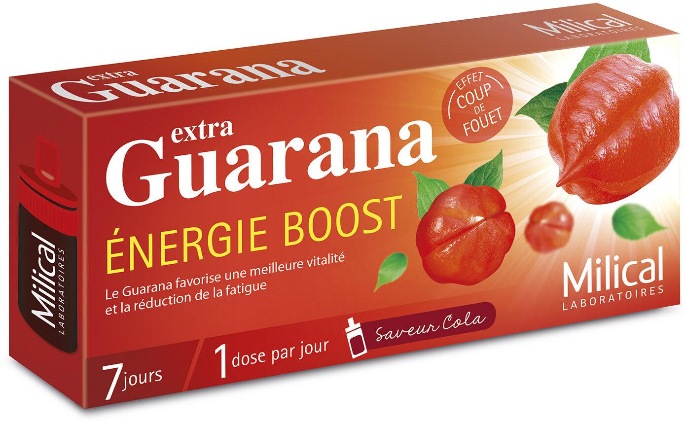 Comment faire un jus énergisant aux guaranas ?