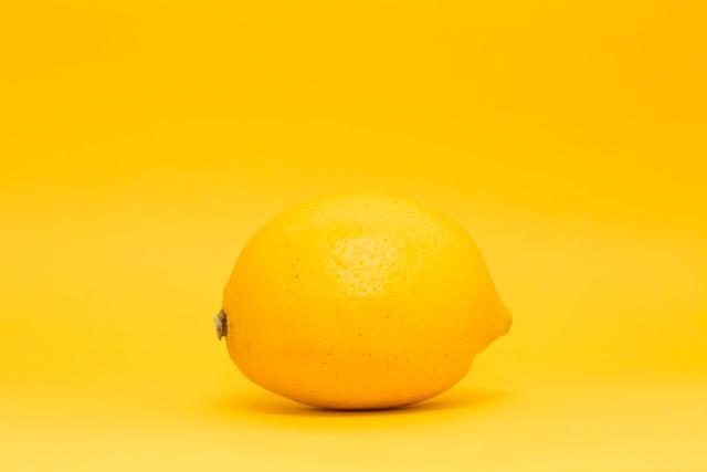 Infusion de curcuma et de citron